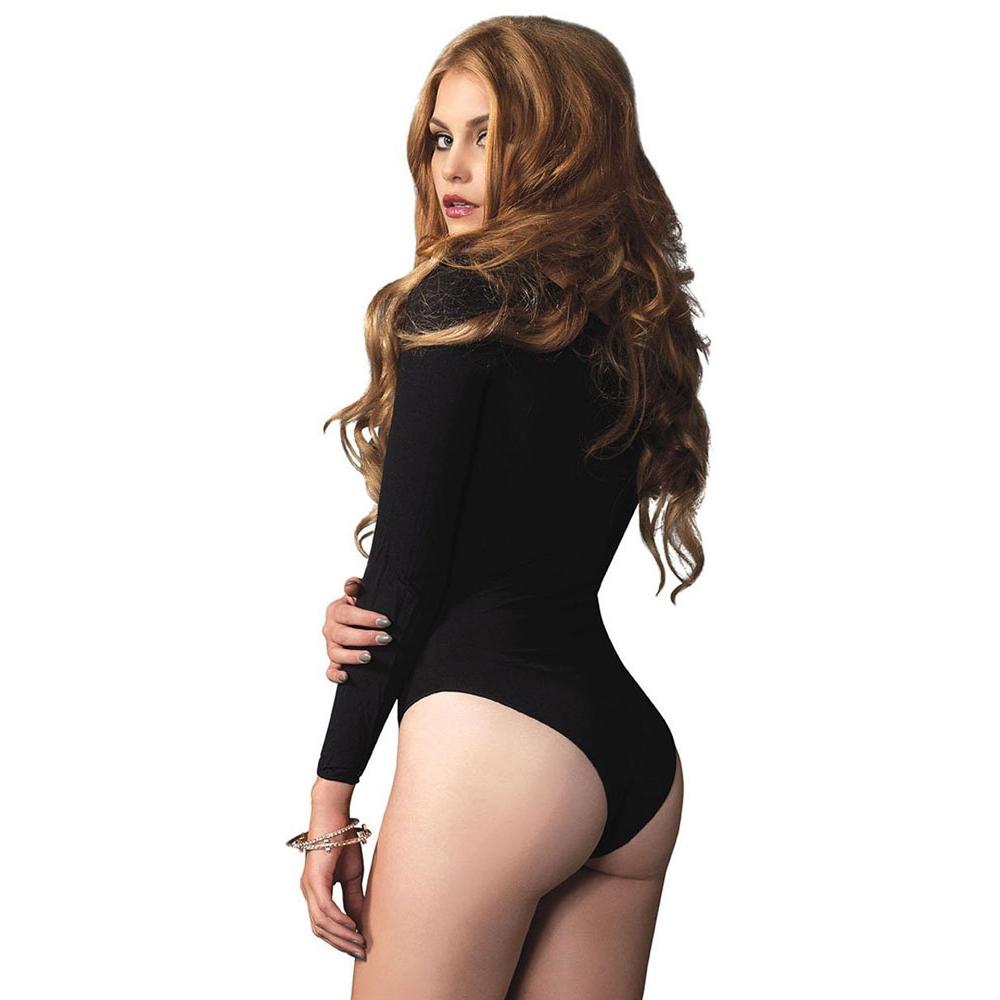 Body Manches Longues Noir
