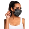 Masque de Protection Harlow Brillant Noir