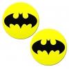 Caches-Tétons Batman Noirs & Jaunes