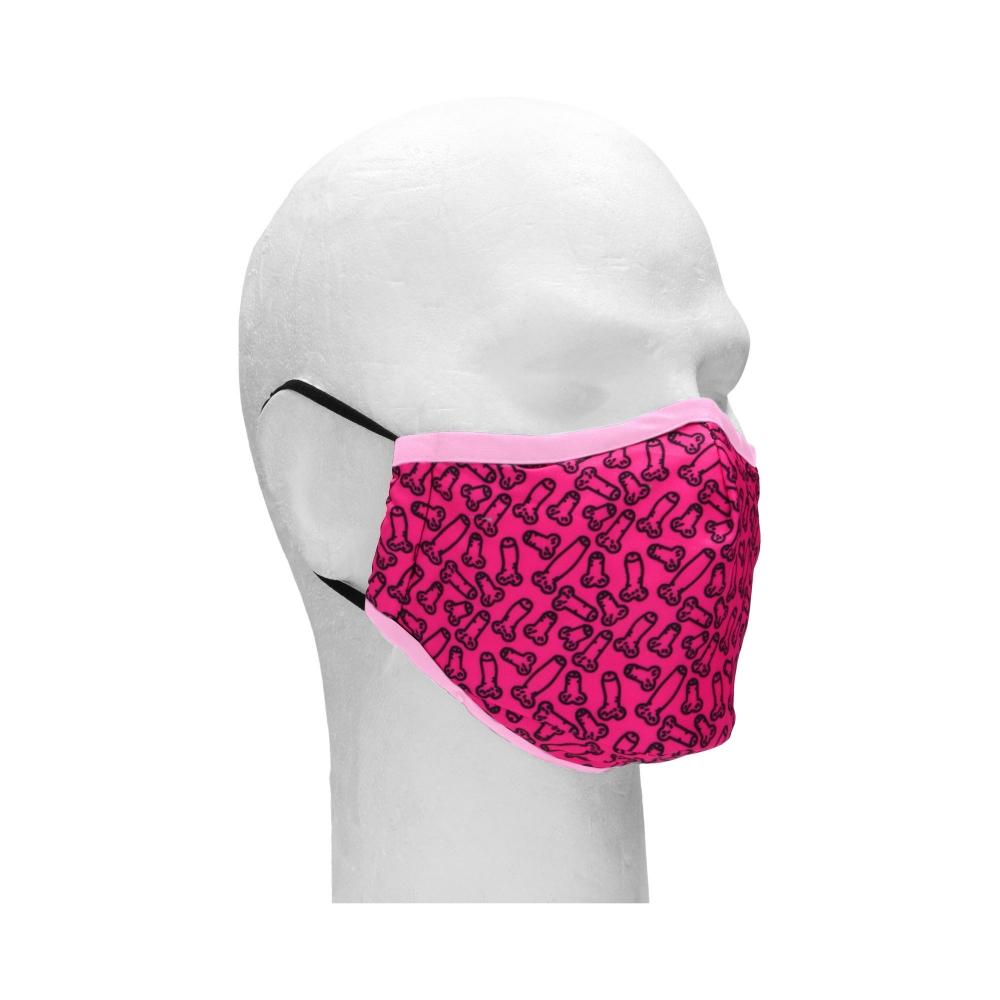 Masque de Protection Cocky Rose