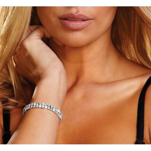 Bracelet Double Strass