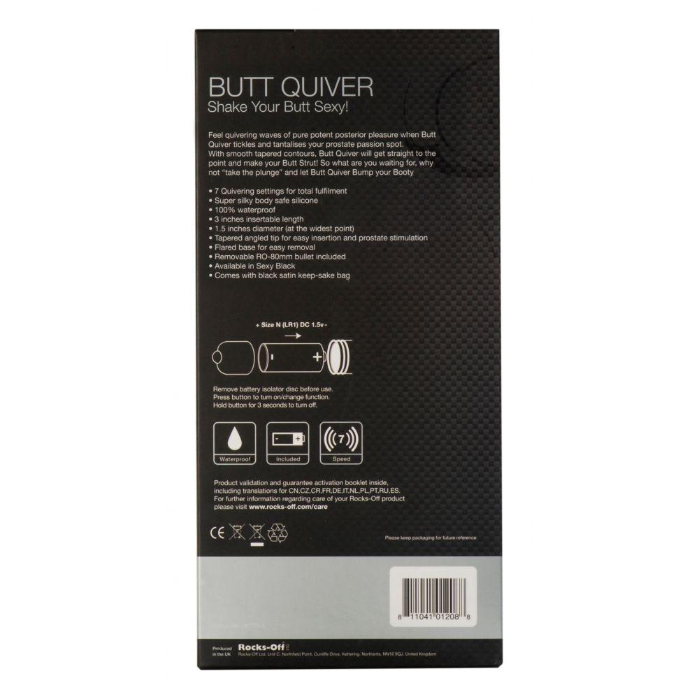 Plug Anal Vibrant Butt Quiver