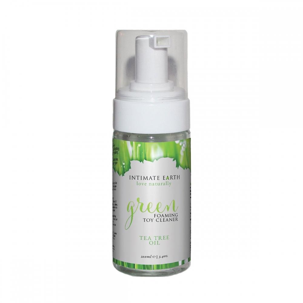 Mousse Nettoyante pour Sextoys Green 100 ml