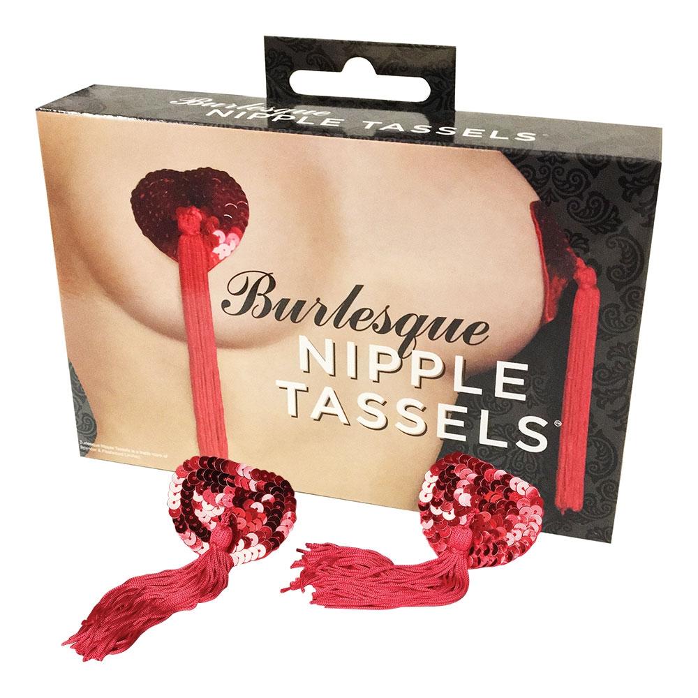 Cache-Seins Sequins Rouge Burlesque
