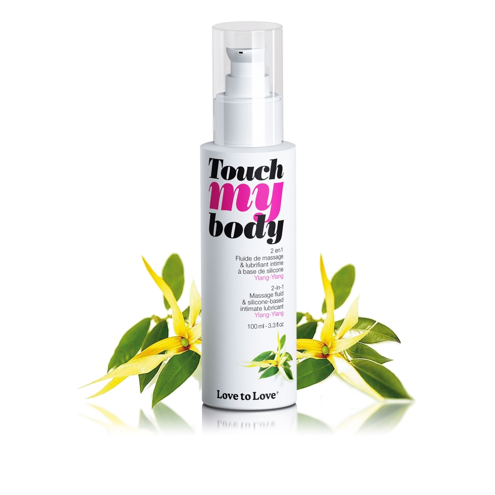 Fluide de Massage et Lubrifiant Touch My Body Ylang-Ylang