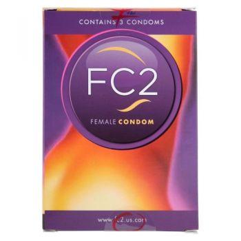 Préservatif Interne FC2 Boîte de 3