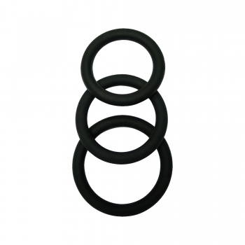 Kit de 3 Cockrings Silicone