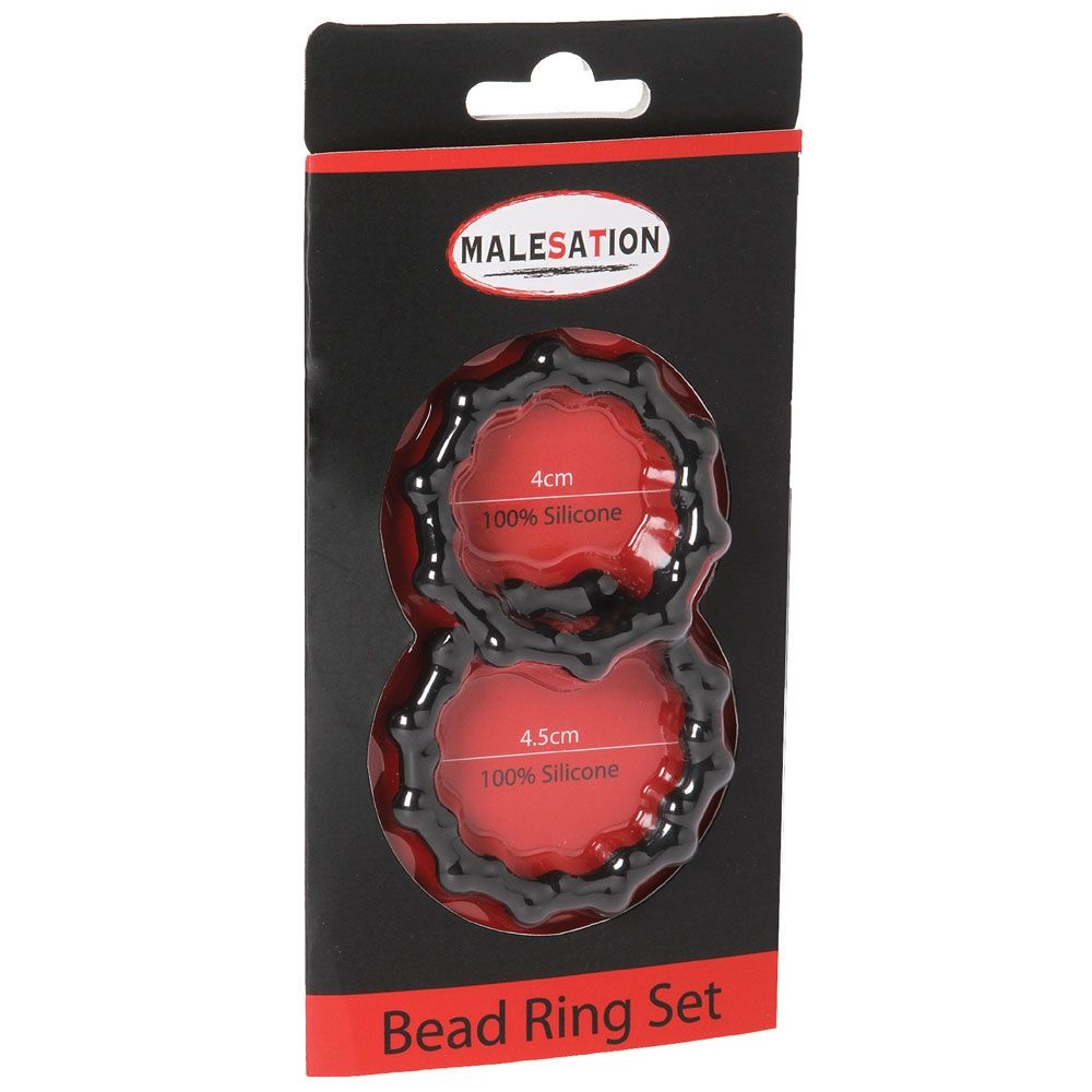 Kit de 2 Cockrings Bead Ring
