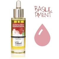 Huile d'Olive de Massage Olive&Olivia Basilic Piment