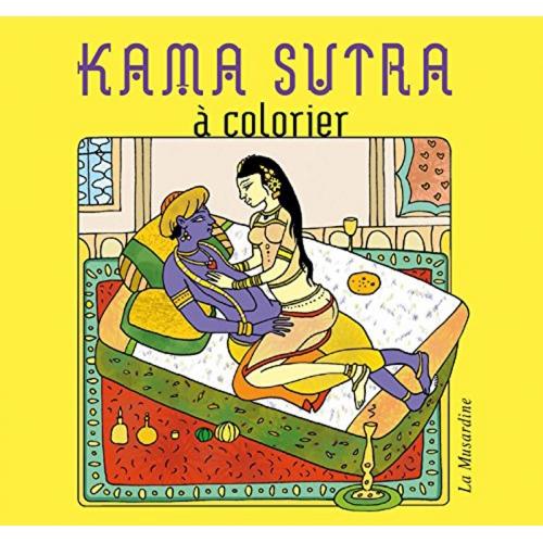 Kama Sutra à Colorier