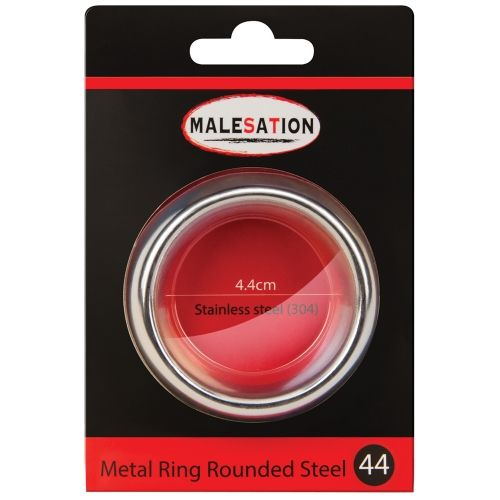 Cockring Metal Ring Rounded Steel 4,4 cm