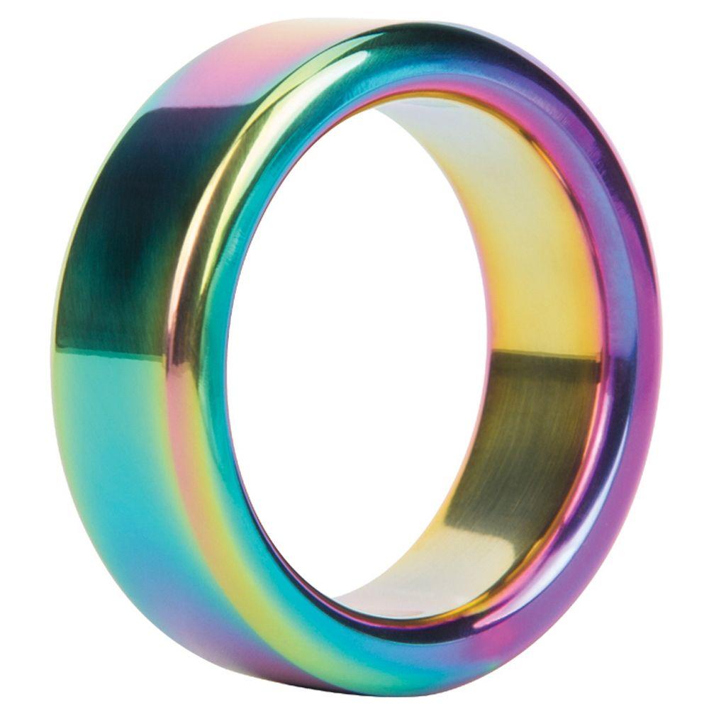 Cockring Metal Ring Rainbow Steel 3,8 cm