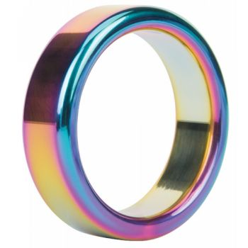 Cockring Metal Ring Rainbow...