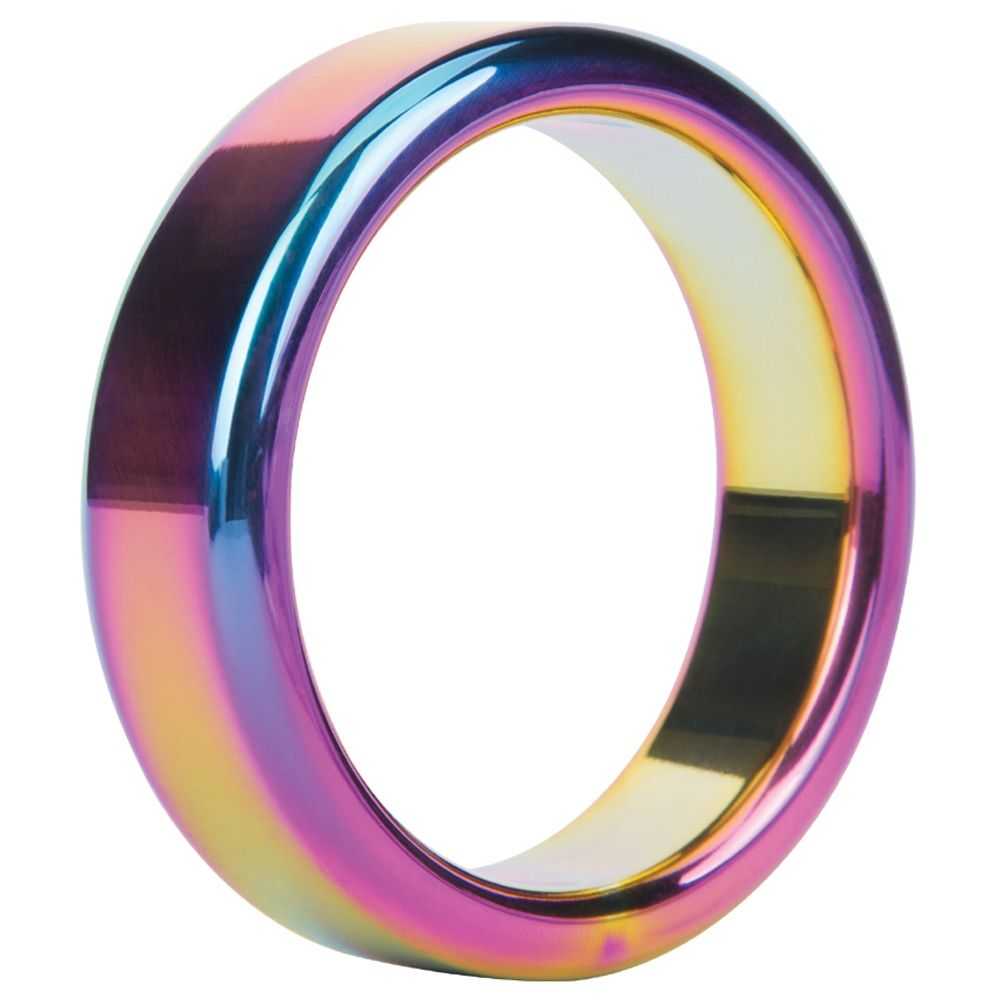 Cockring Metal Ring Rainbow Steel 4,8 cm