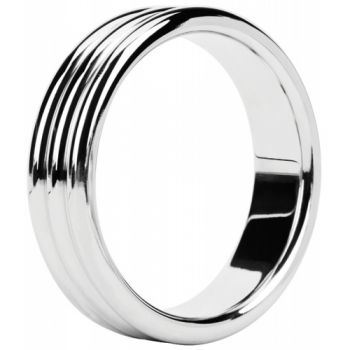 Cockring Metal Ring Triple Steel 4,8 cm