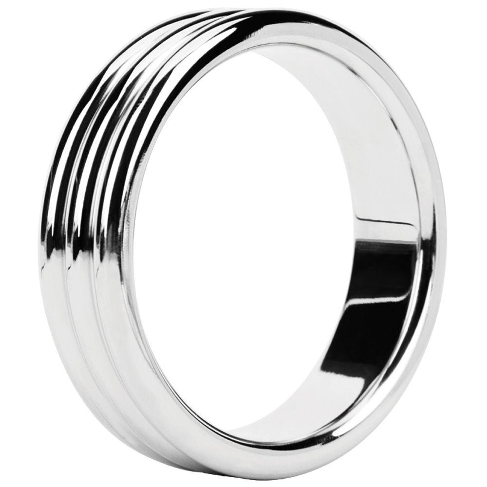 Cockring Metal Ring Triple Steel 4,8 cm