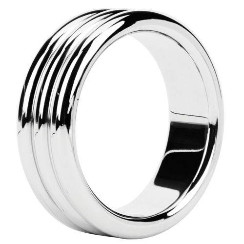 Cockring Metal Ring Triple Steel 3,8 cm