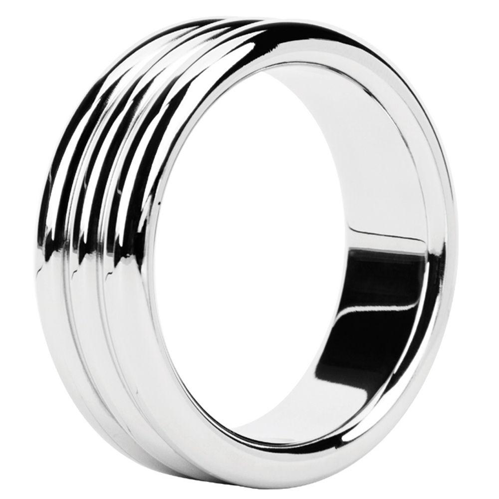 Cockring Metal Ring Triple Steel 3,8 cm