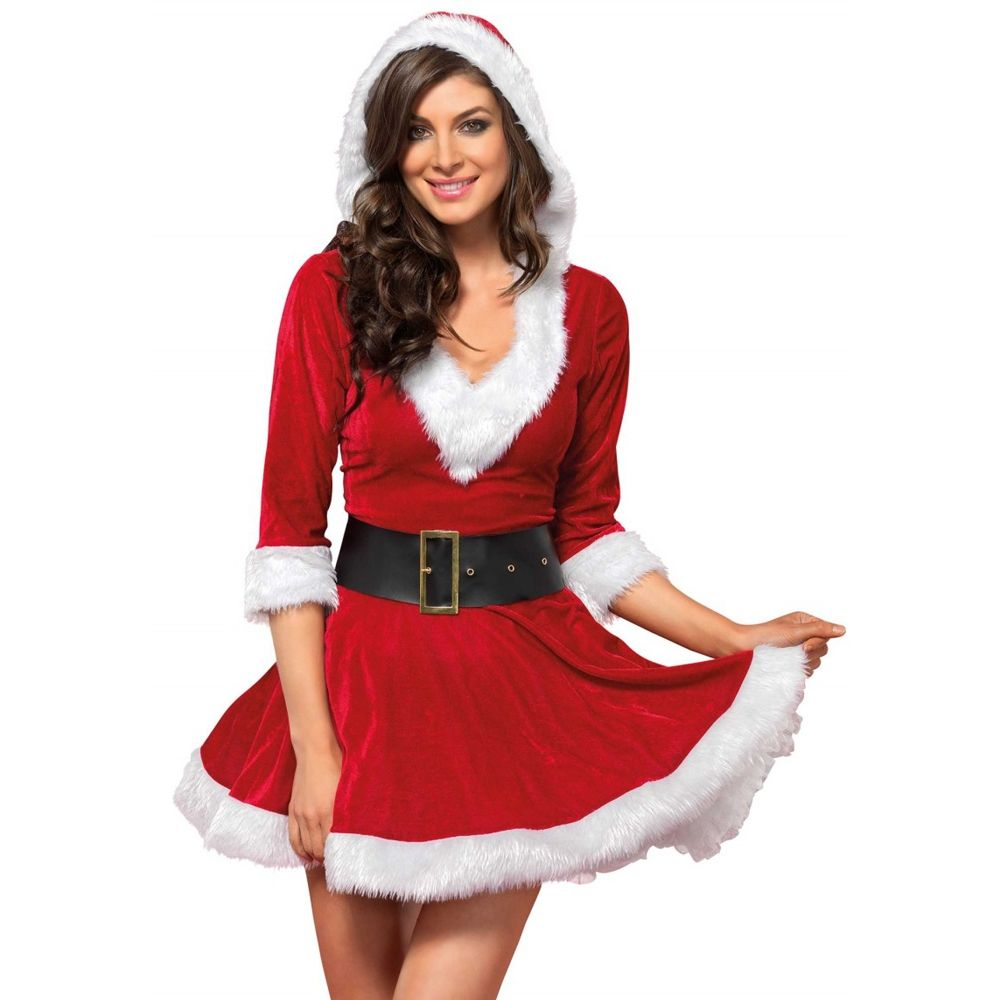 Robe Mère Noël Mrs. Claus 2 Pièces
