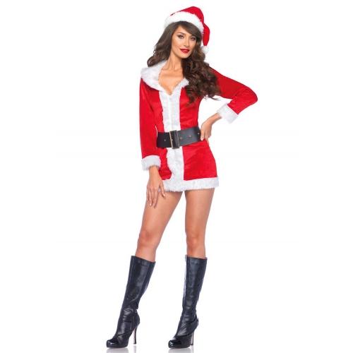 Robe Mère Noël Secret Santa 3 Pièces GT
