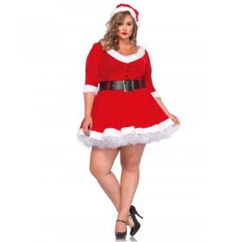 Robe Mère Noël Miss Santa 3 Pièces GT