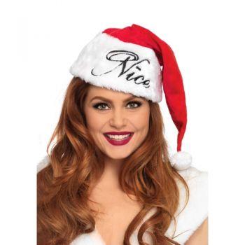 Bonnet Mère Noël Santa Hat Réversible