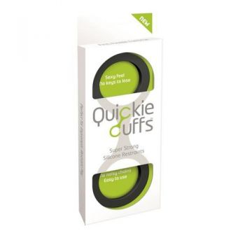 Menottes Silicone Quickie Cuffs Large