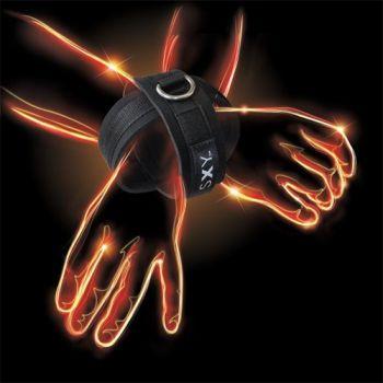 Menottes SXY Deluxe Néoprène Cross Cuffs
