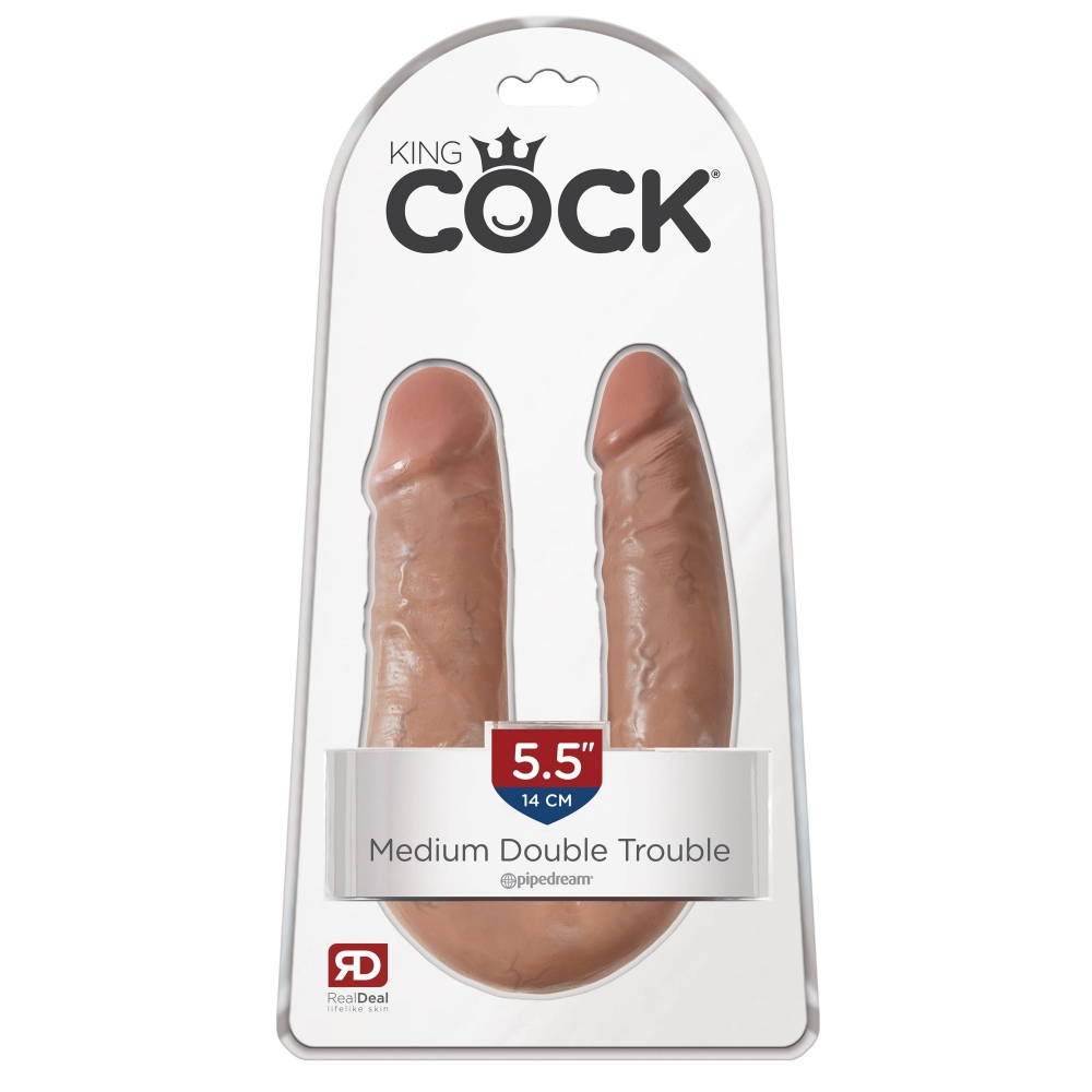 Double Dong Medium Double Trouble King Cock