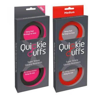 Menottes Silicone Quickie Cuffs Medium