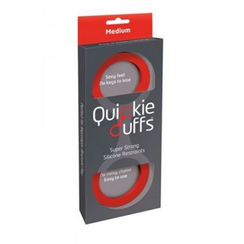 Menottes Silicone Quickie Cuffs Medium