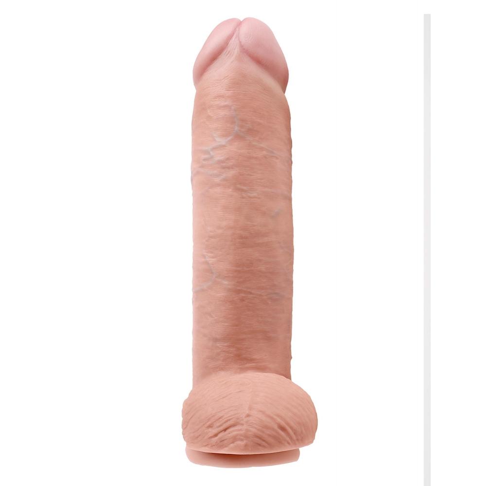 Dildo XXL avec Testicules 30,5 cm King Cock