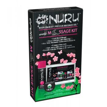 Coffret de Massage Wet Nuru Corps à Corps Erotique
