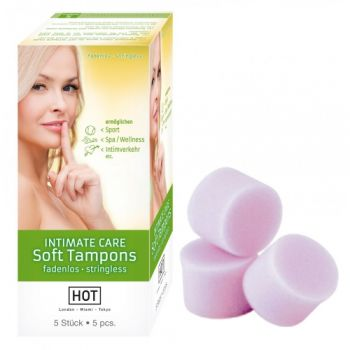 Soft Tampons Intimate Care Boîte de 5