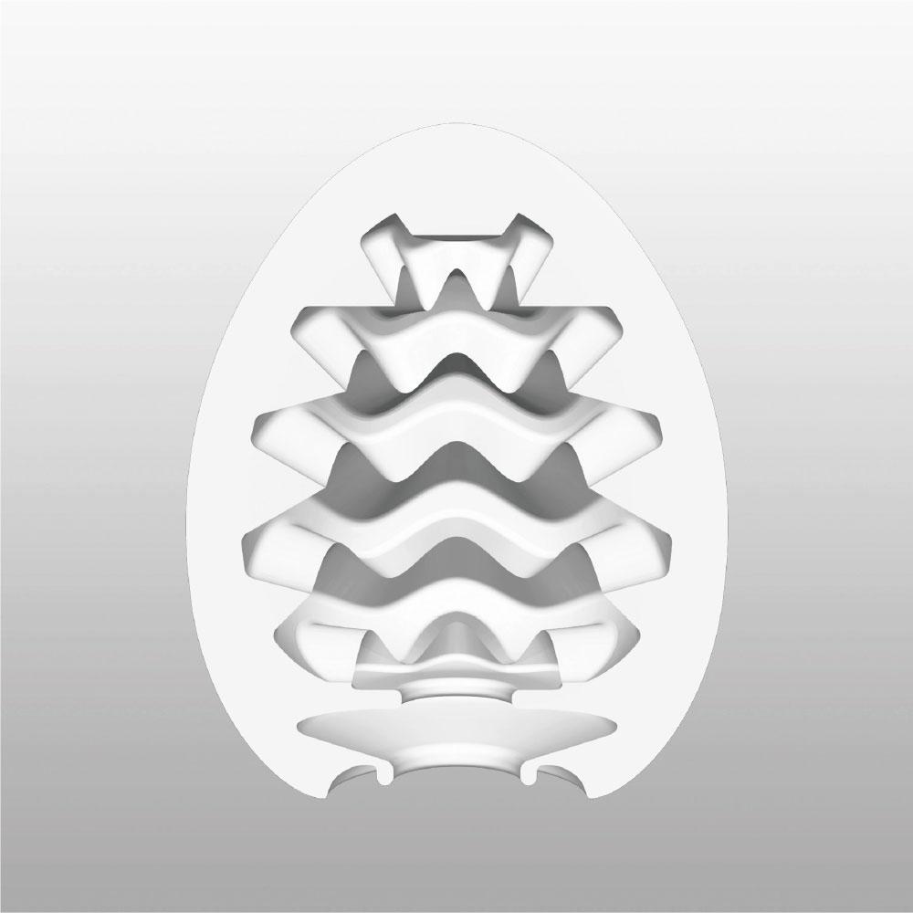 Masturbateur Egg Wavy