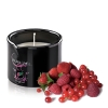 Bougie de Massage Gourmande Fruits Rouge Allume-moi