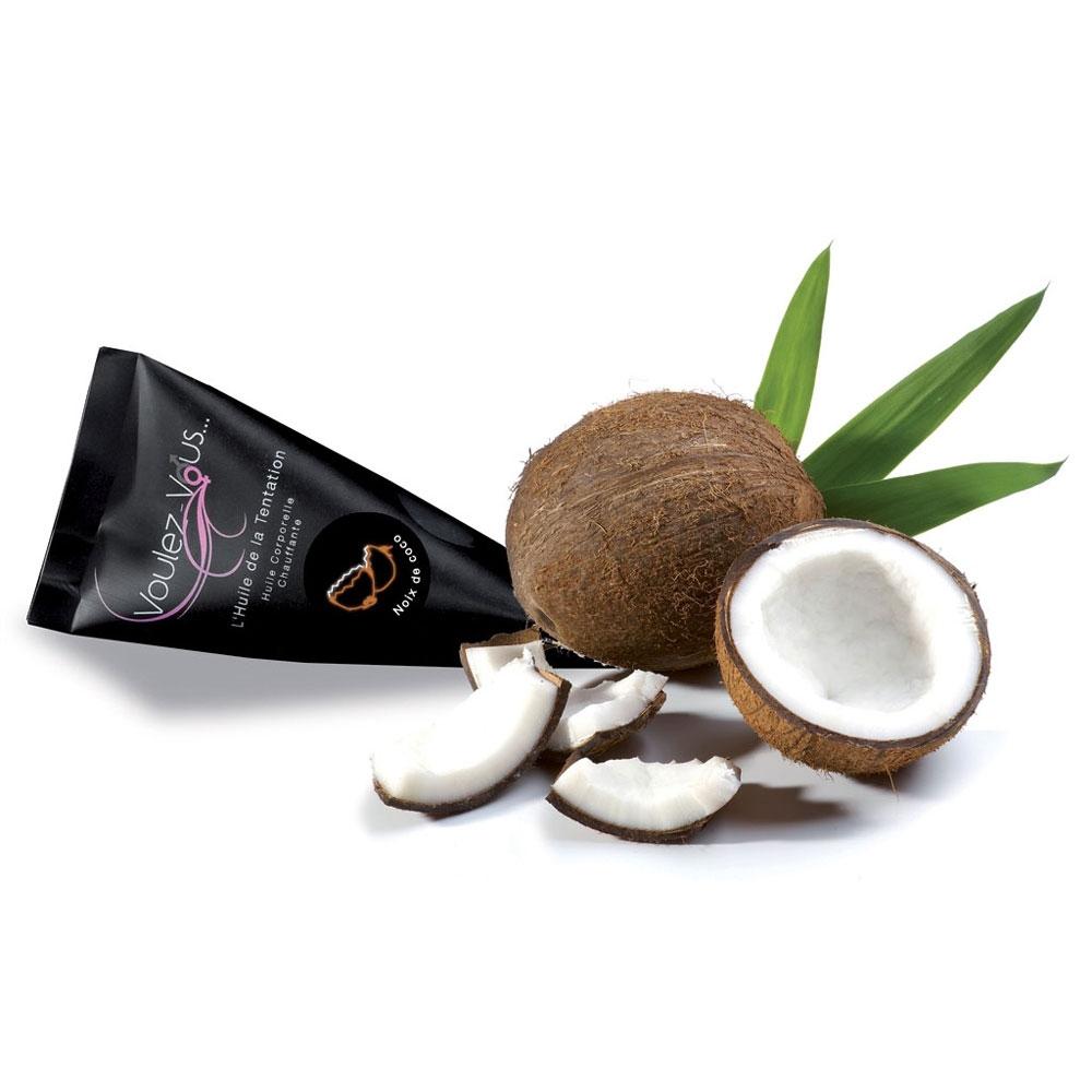 Berlingot Huile Gourmande & Chauffante Noix de Coco