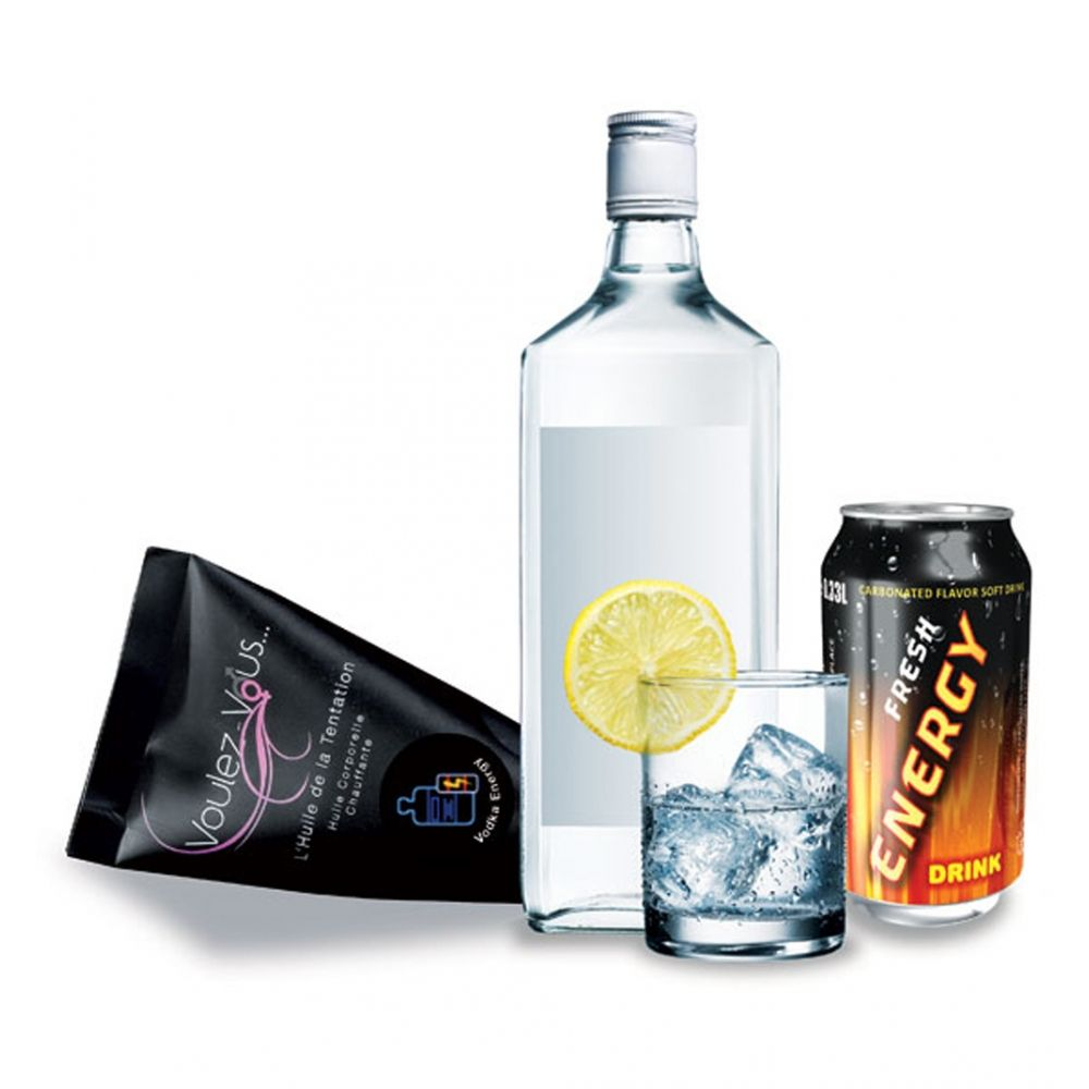 Berlingot Huile Gourmande et Chauffante Vodka Energy