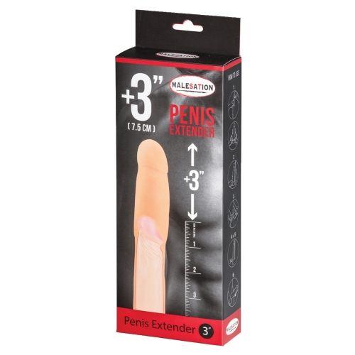 Gaine à Pénis Extender +7,5 cm