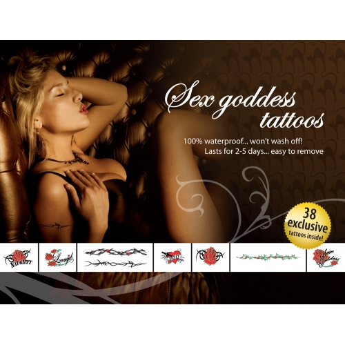Tatouages Temporaires Sex Goddes Tattoos