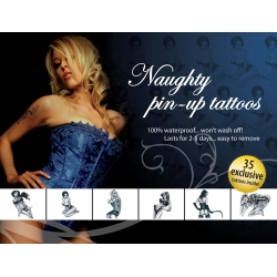 Tatouages Temporaires Naughty Pin-up Tattoos