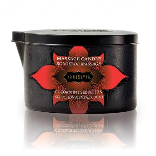 Bougie de Massage Séduction Menthe Cacao