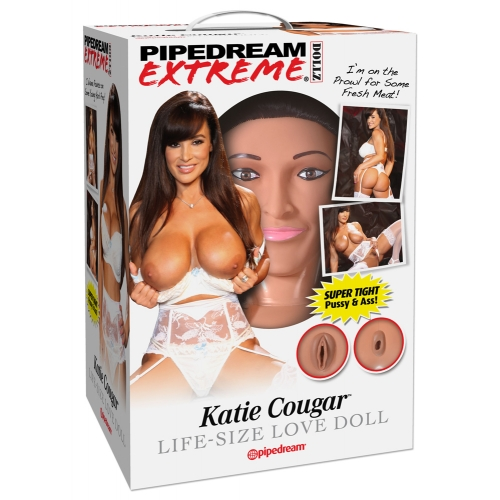 Poupée Gonflable Katie Cougar