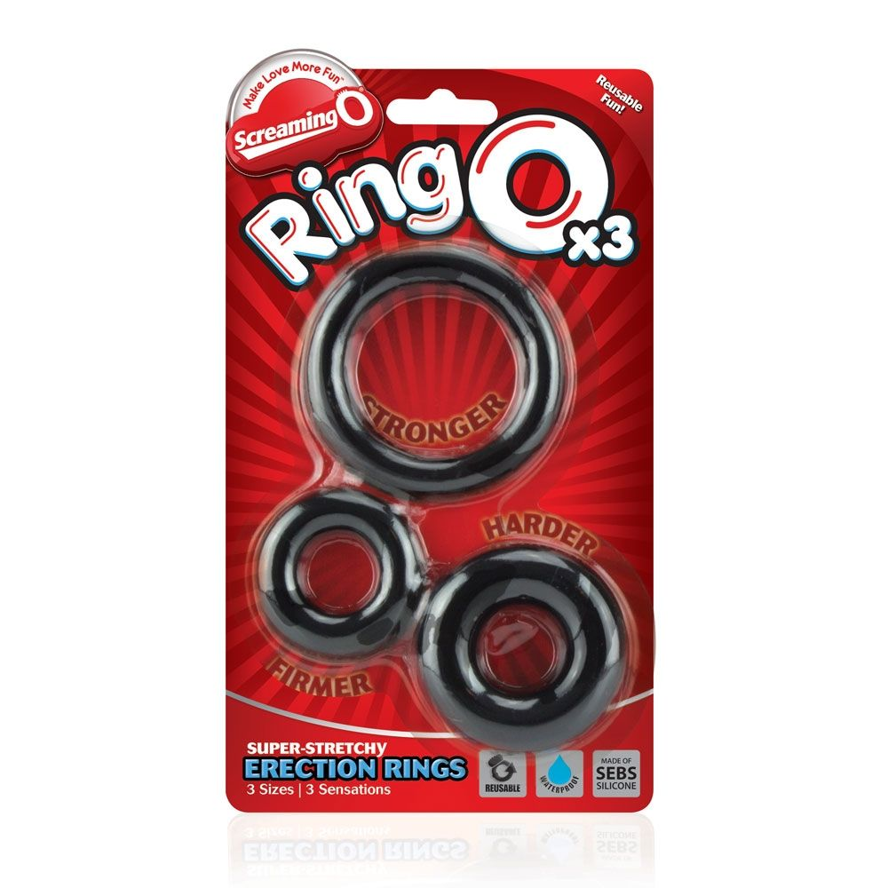 3 Cockrings Ring O