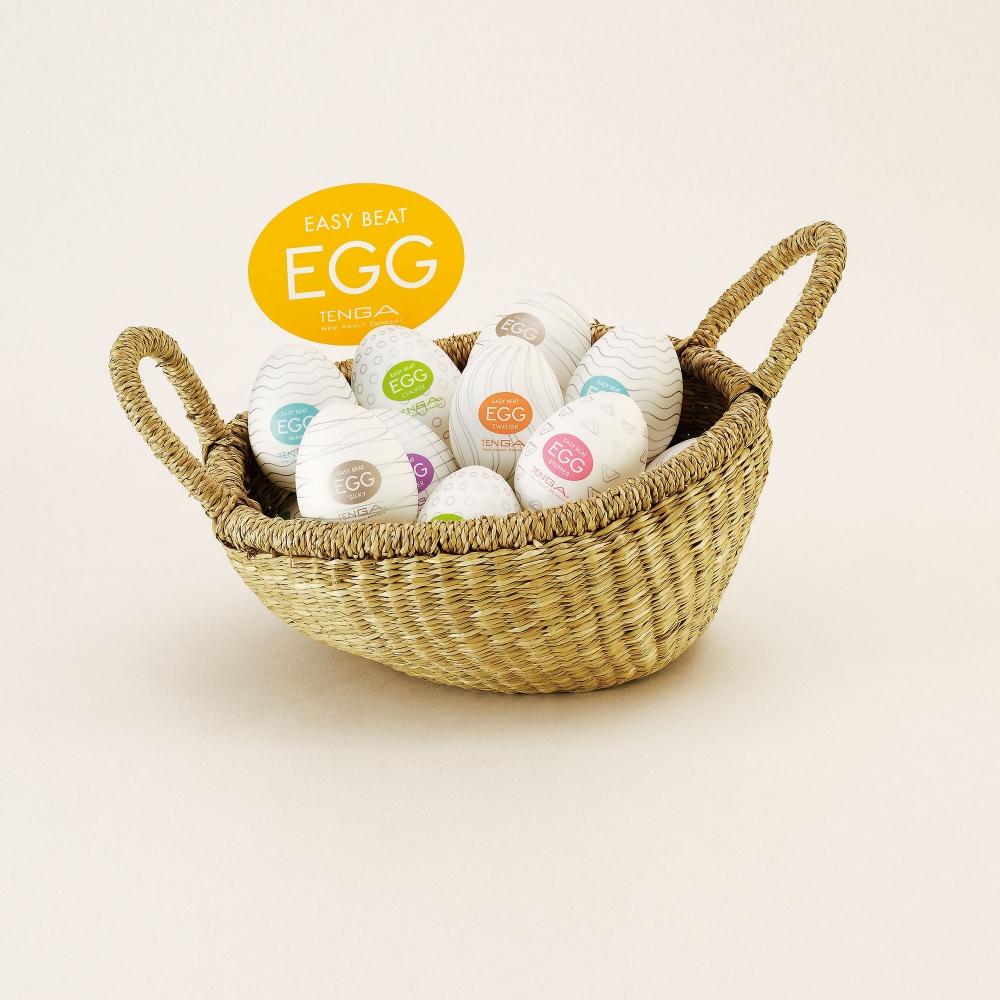 Masturbateurs Egg Colors Pack de 6