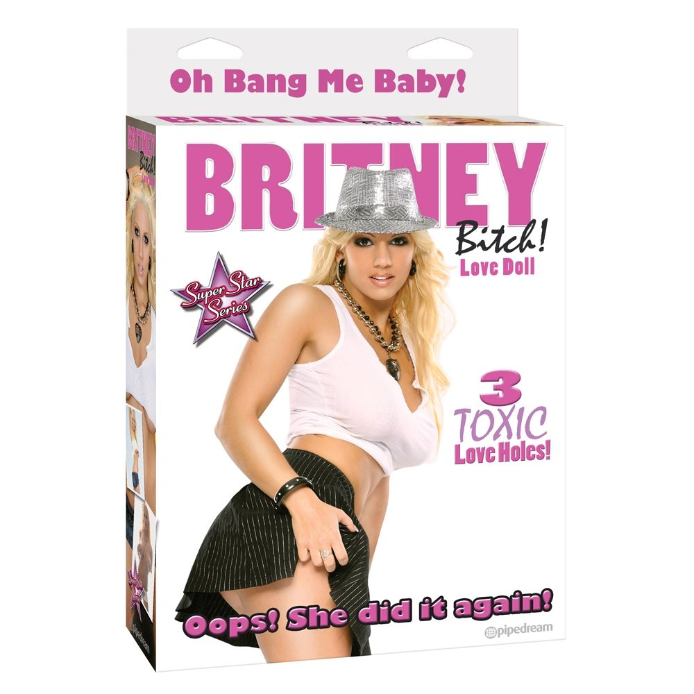 Poupée Gonflable Britney Bitch