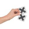 Nippies Croix Noirs Pailletés