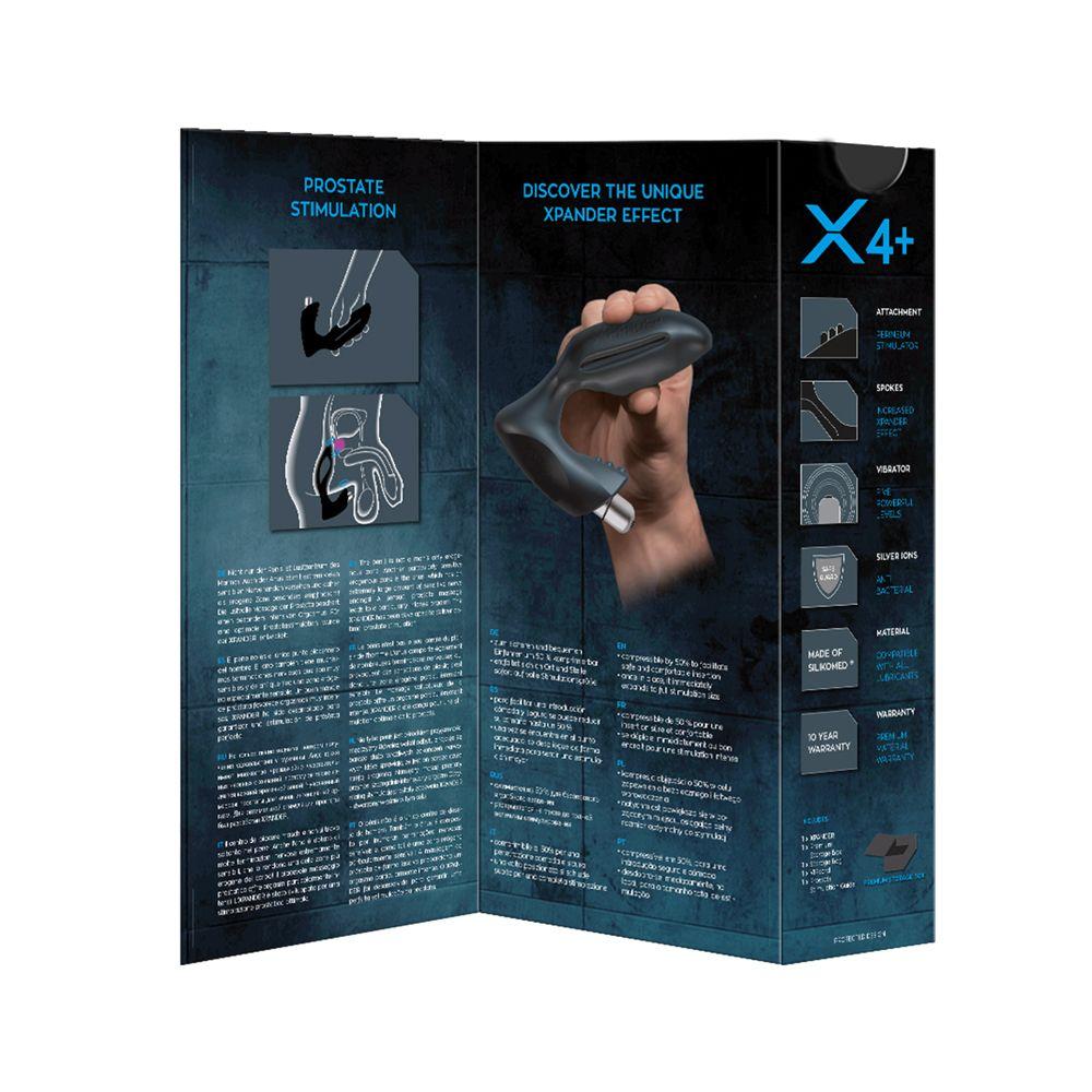 Stimulateur Prostatique Vibrant XPANDER X4+ Small