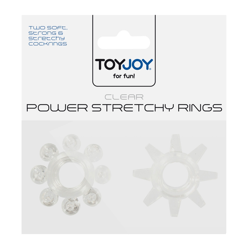 Kit de 2 Cockrings Power Stretchy Rings