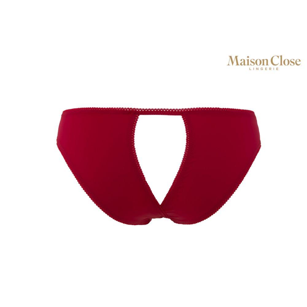 Culotte Ouverte Rouge Le Petit Secret